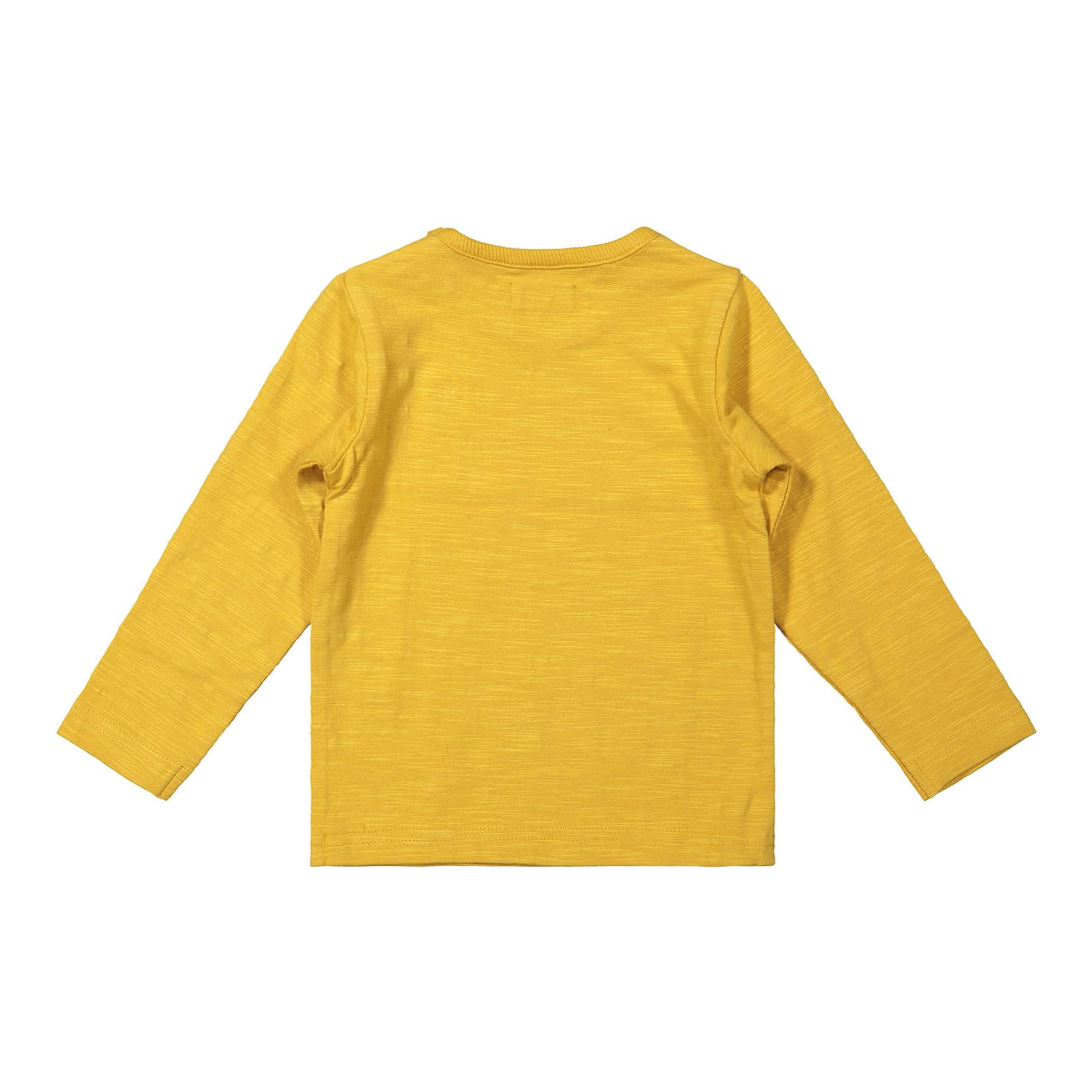 Dirkje Jongens longsleeve oker geel