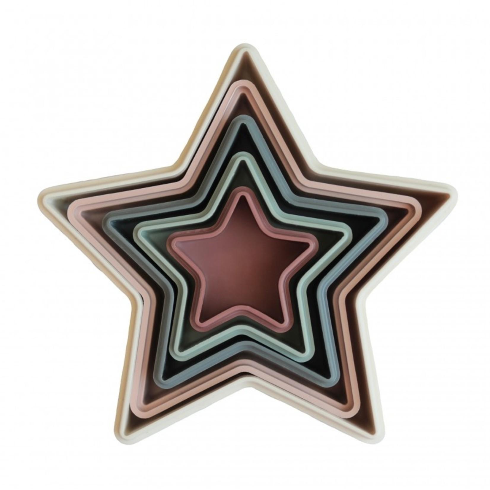 Mushie Mushie stapel sterren