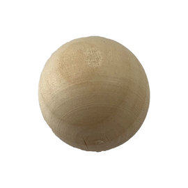 123Paracord Wooden Ball for Monkey Fist. Diameter: 25 mm