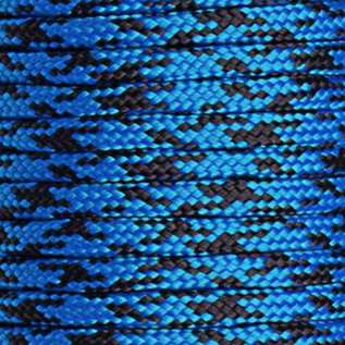 123Paracord Paracord 425 type II Blue camo