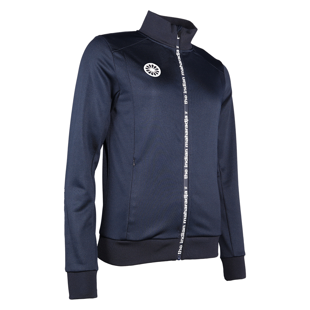 The Indian Maharadja The Indian Maharadja full zip vest poly terry dames navy