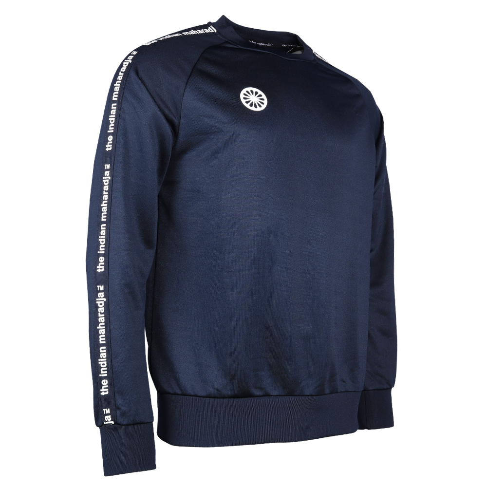 The Indian Maharadja The Indian Maharadja sweater poly terry junior navy