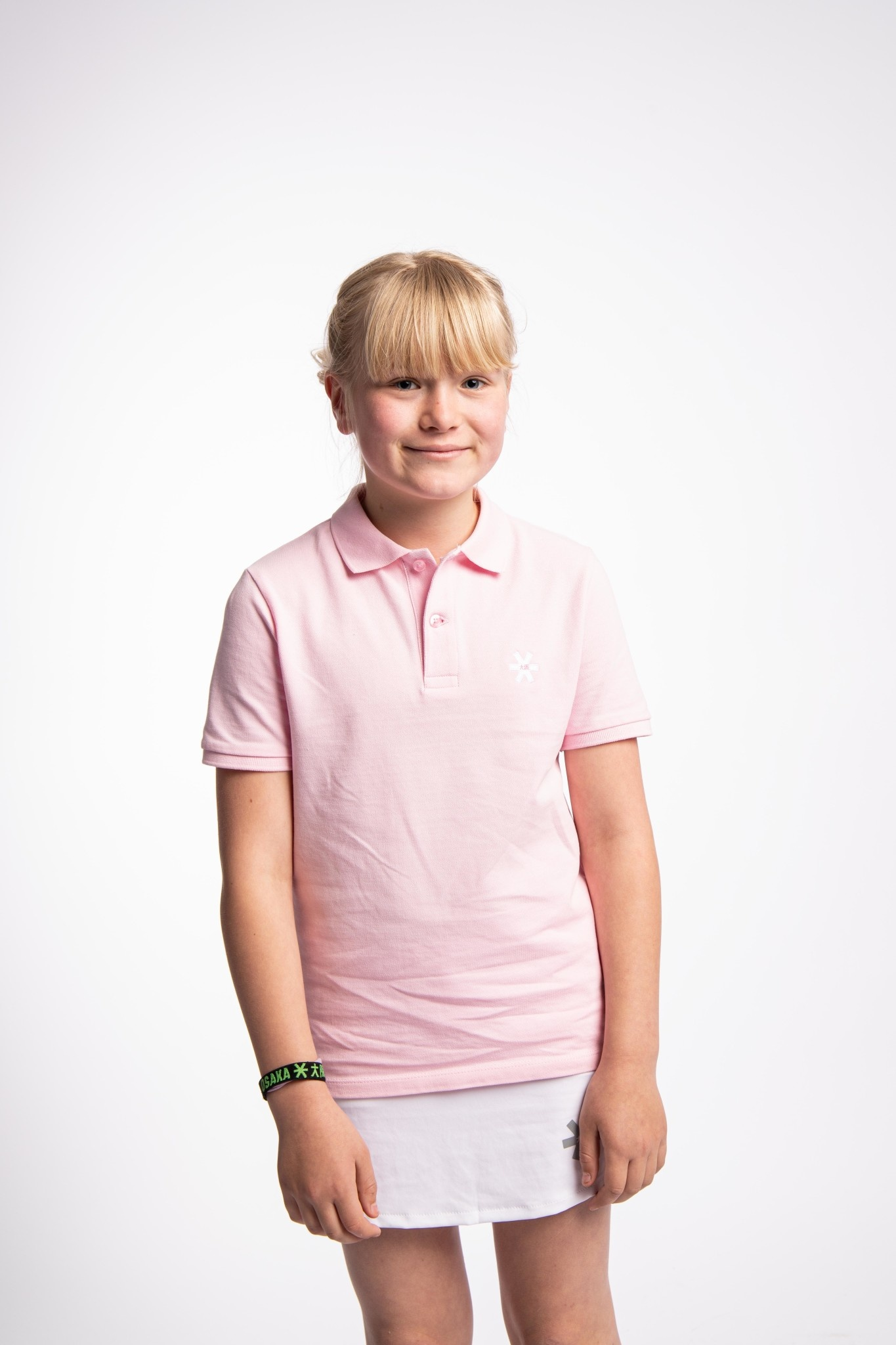 Osaka Osaka polo shirt junior cotton pink