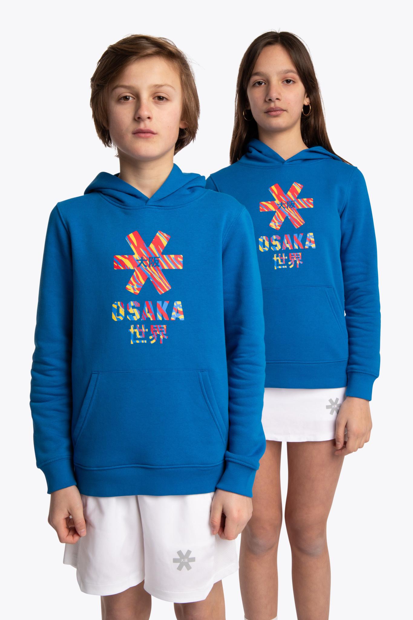 Osaka Osaka hoodie junior Pollocs cobalt
