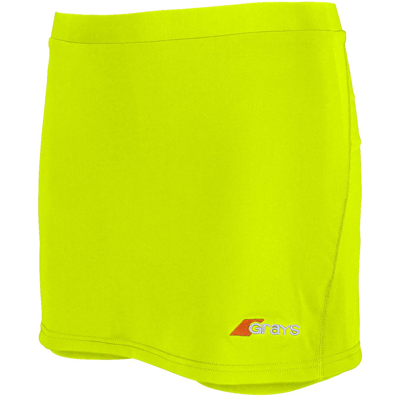 Grays Grays rokje  neon geel
