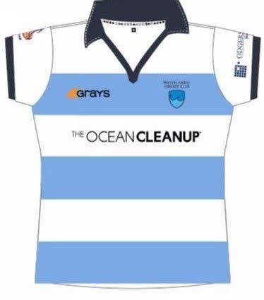 Grays Grays WHC shirt  Ocean Clean Up  dames