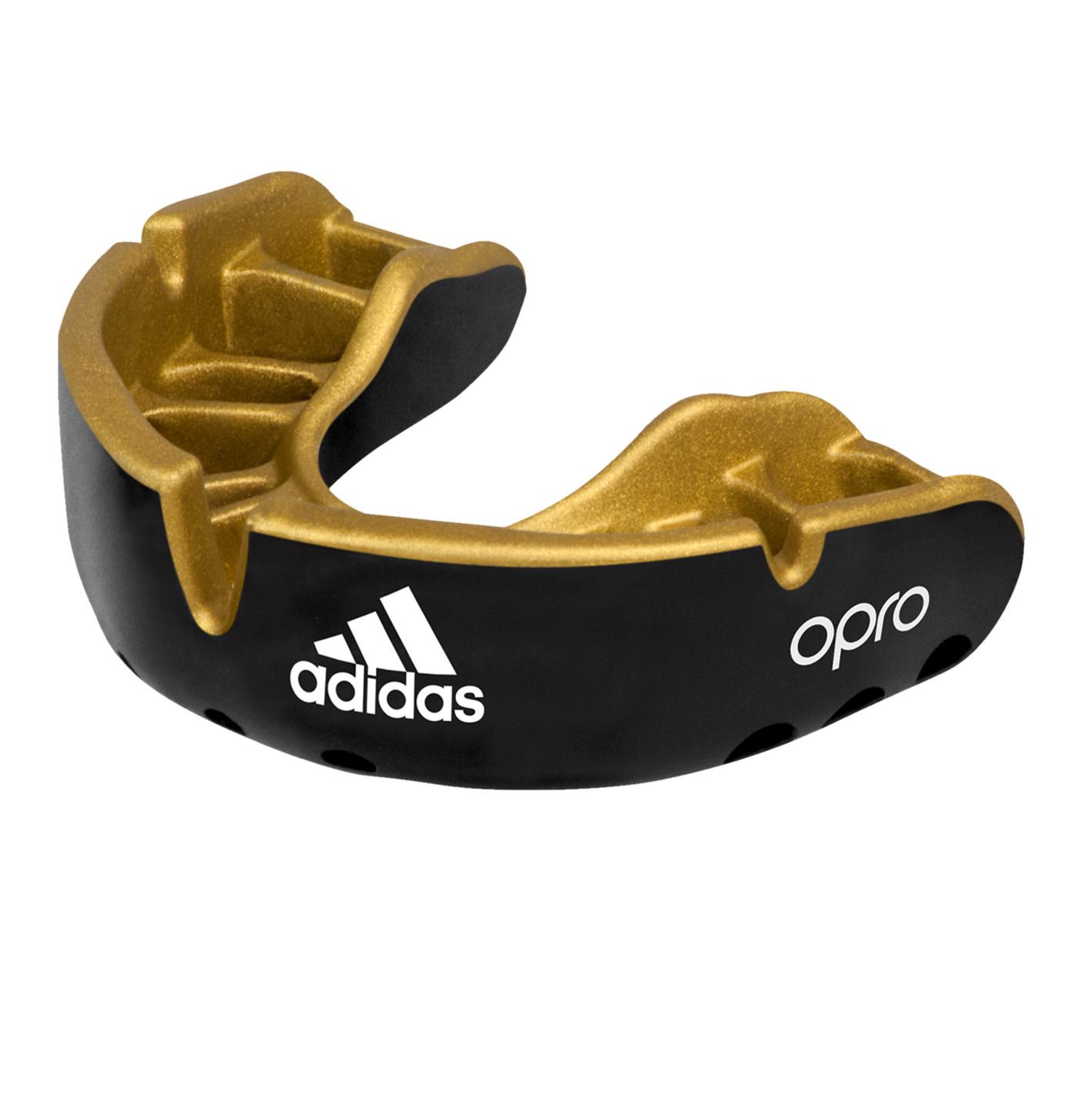 Adidas Adidas mouthguard gold zwart