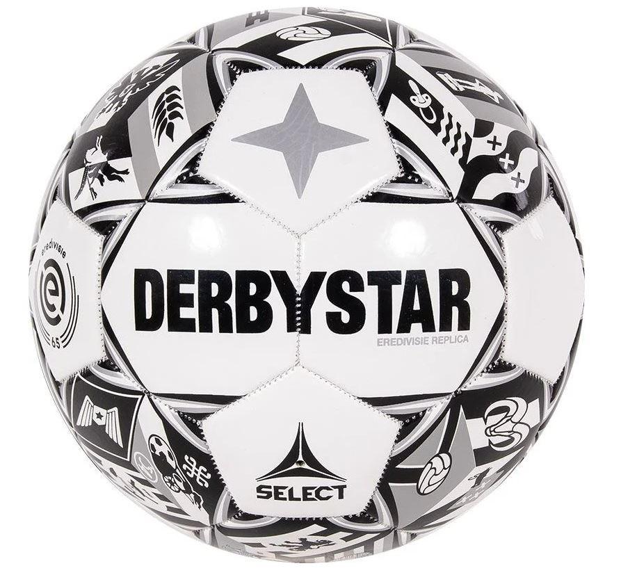 Derbystar Derbystar Eredivisie Design Replica 21/22 zwart - wit