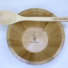 Cap Bambou Bamboe kom + lepel set