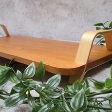 Dua Kaasplateau met bamboe handvat