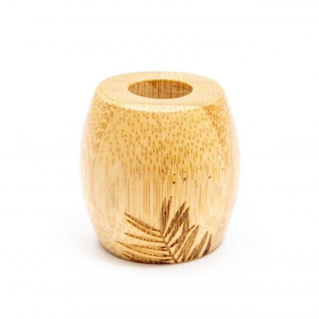 Wild and Stone Tandenborstel houder bamboe- volwassene