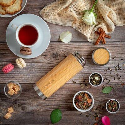 Yoko Design Geïsoleerde theefles Bamboe