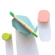 Powdy and Snatch Bamboe kindertandenborstel
