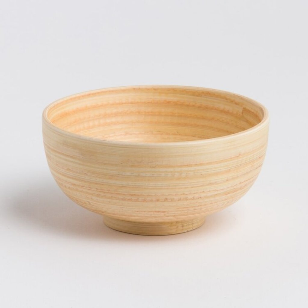 Bibol Mat wit bamboe schaaltje