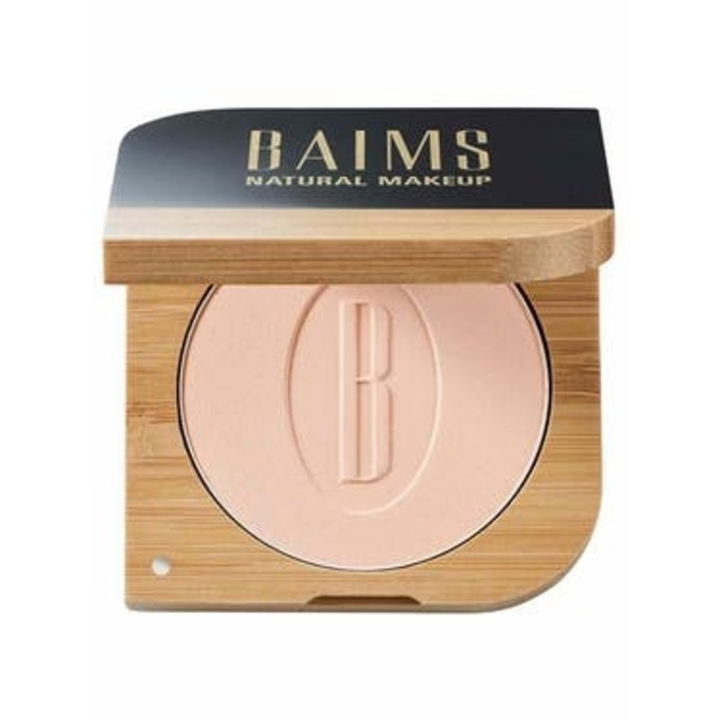 Baims Natural make-up Mineraal poeder, geschikt voor alle huidtypes bamboe verpakking
