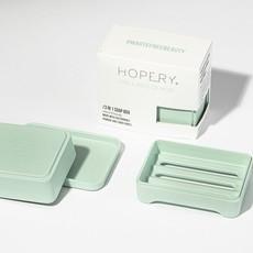 Hopery Zeep box 3 in 1  uit bamboe en mais