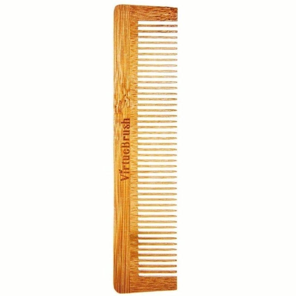 Virtuebrush Pocket haarkam bamboe