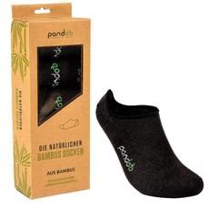 Pandoo Bamboe sokken 6 paar -zwart