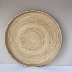 Bibol Dienblad bamboe  35 cm