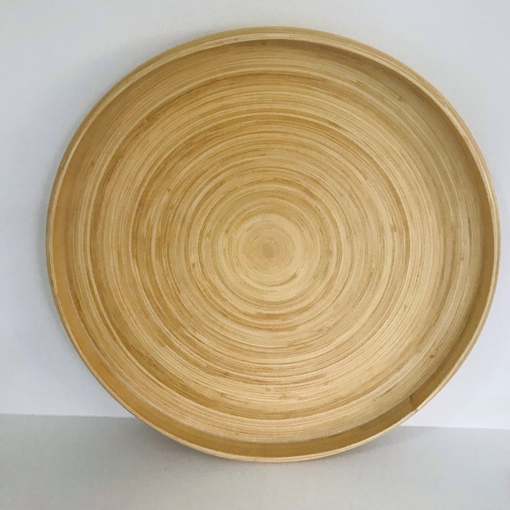 Bibol Dienblad bamboe 30 cm