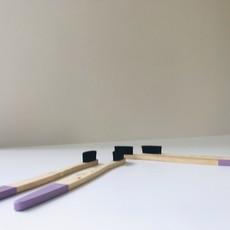Wild and Stone Bamboe tandenborstel voor volwassenen - 4 stuks ultra zacht