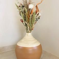 Atmosphera Créateur d'intérieur Vaas bamboe H 30cm