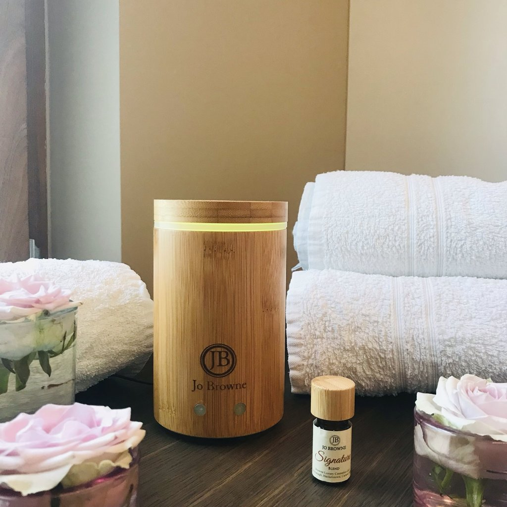 Jo Browne Aroma verspreider bamboe - 160 ml, met de hand gemaakt