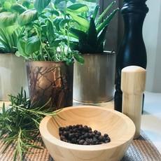 5Five Simply Smart Vijzel en stamper bamboe