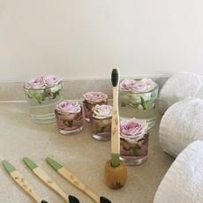 Wild and Stone Bamboe tandenborstel voor volwassenen - 4 stuks medium -