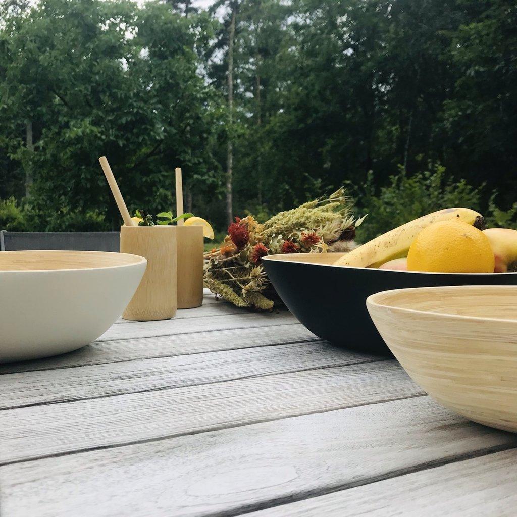 Bibol Klein mangoschaaltje bamboe naturel