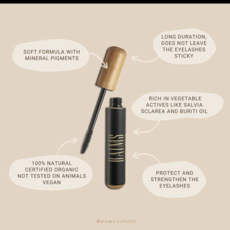 Baims Natural make-up Mascara met bamboe cover