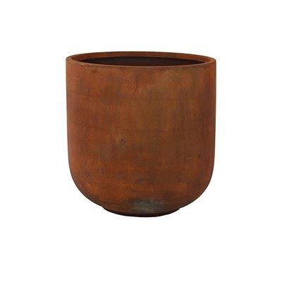 Plantenbak: Pot Static rust Ø 59x60cm