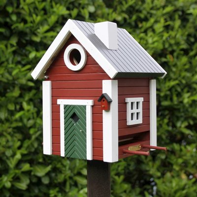 Multihok Torpet ,  het leukste nestkastje en voederhuisje in één