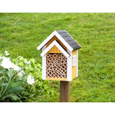 """Bijen huisje """"Biholk"""" - geel"""