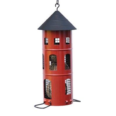 Kombimatare (voederautomaat) - rood