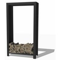 Forno / Burni houtopslag hoog - gecoat staal
