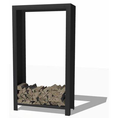 Hoge open houtopslag kast van Forno / Burni -  gecoat staal