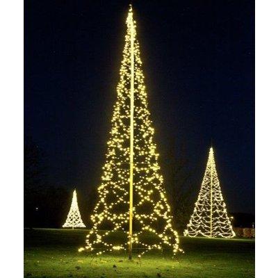 Fairybell Kerstboom 800cm met 1500, met twinkelende ledlampjes