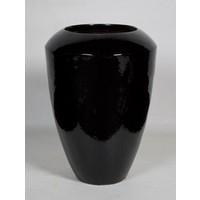 Coppa zwart glans   Ø50x68cm