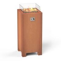 Burni Brann 55 zuil - Cortenstaal