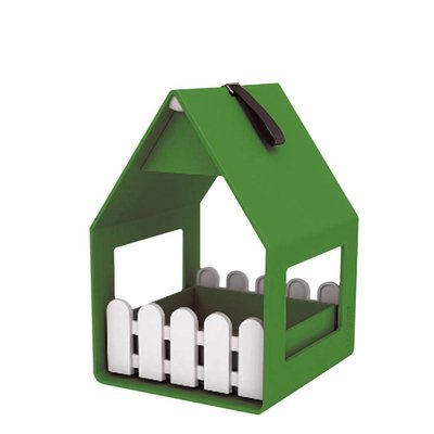 Landhaus 3 in 1 vogelvoederhuisje groen