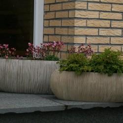 Kunststof plantenbakken
