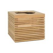 Teak houten plantenbak Modulo