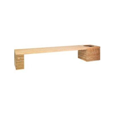 Modulo teak houten bank combinatie 4