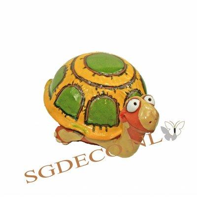 Decoratieve tuinbol Schildpad
