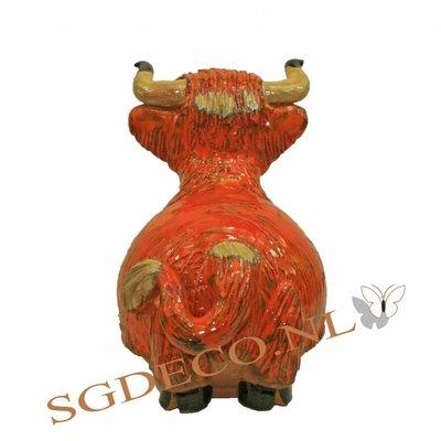 Decoratieve tuinbol - Schotse hooglander