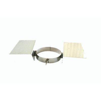 Burni RVS schoorsteen XL met dakdoorvoer