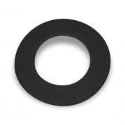 XL Rosette rond 204mm gecoatstaal