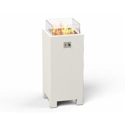 """Hoge vuurtafel Forno (voorheen bekent als """"Burni"""") Brann 55 zuil - gecoat aluminium"""