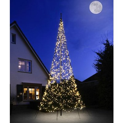 Fairybell Kerstboom 600cm met 1200, met twinkelende ledlampjes